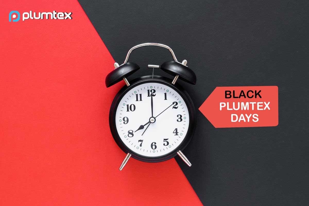 Черни дни в PlumTex - САМО СЕГА 25% ОСТЪПКА!
