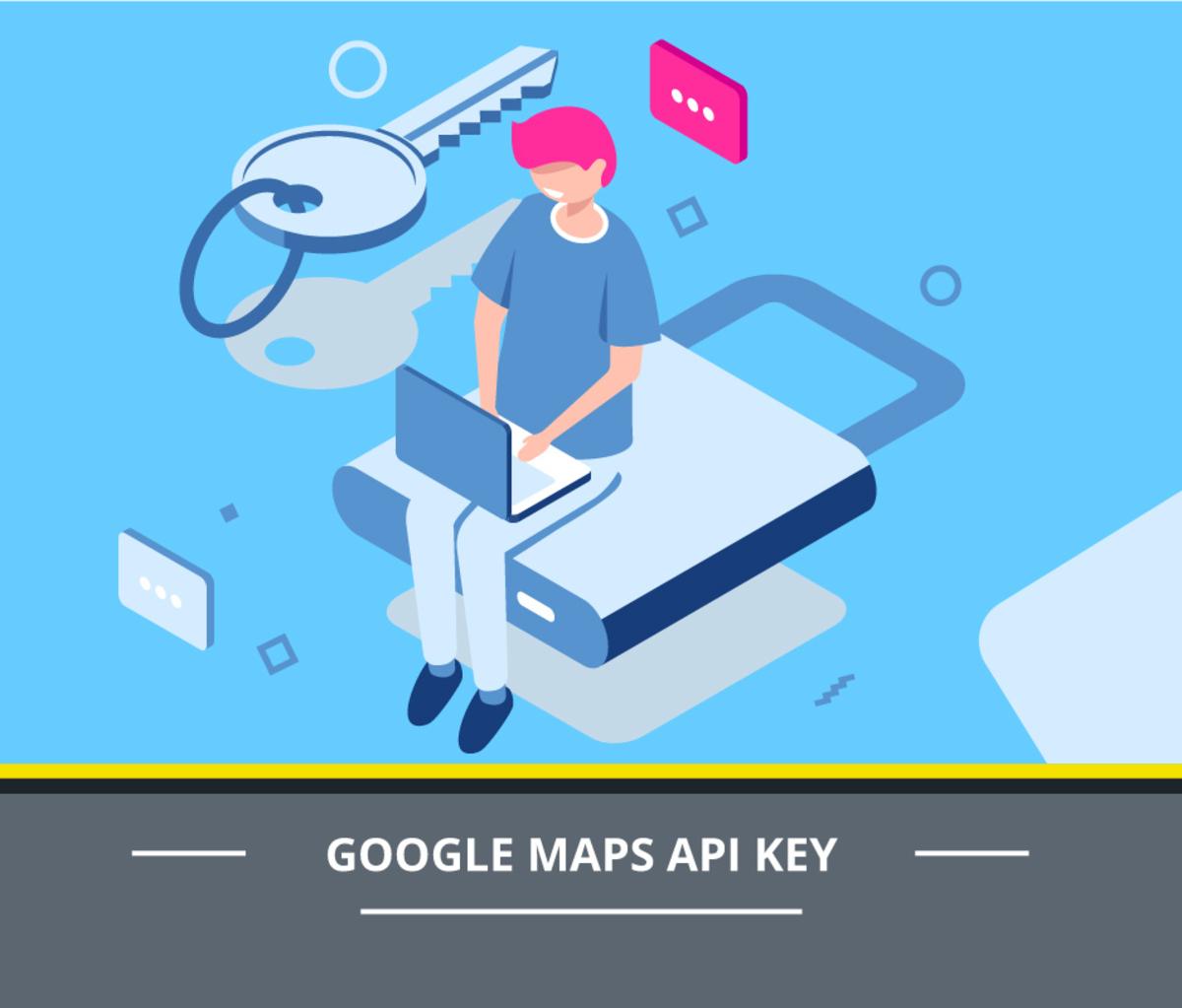 Създаване на API Key за Google Maps