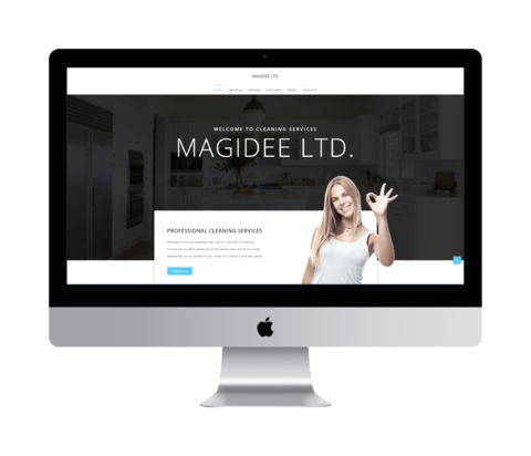 Magidee.co.uk - Screenshot