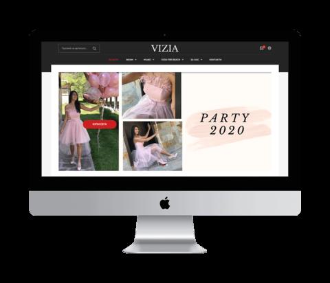 ViziaStore.com - Screenshot